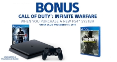 Call of Duty Infinite Warfare Free PS4 Bundle Offer
