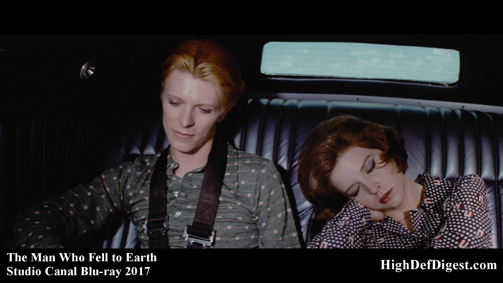 The Man Who Fell to Earth – David Bowie & Candy Clark – Studio Canal