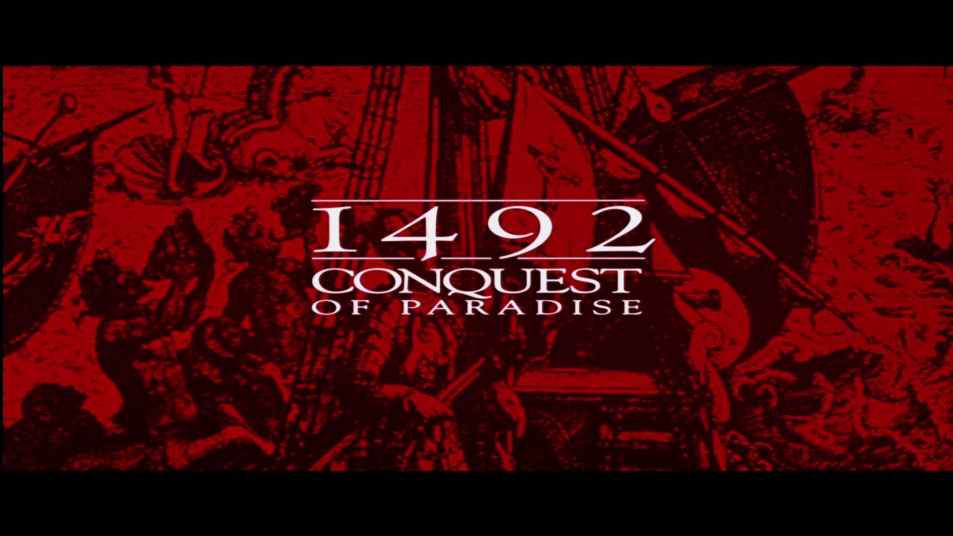 1492 conquest of paradise and 1492: conquest of paradise, 1992 directed by ridley scott starring g rard depardieu, armand assante, sigourney weaver, loren dean, and angela molina synopsis: 1492: conquest of paradise arrives on blu-ray in north america in a release that features some deleted scenes and a commentary track.