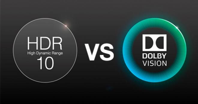 HDR10 vs Dolby Vision