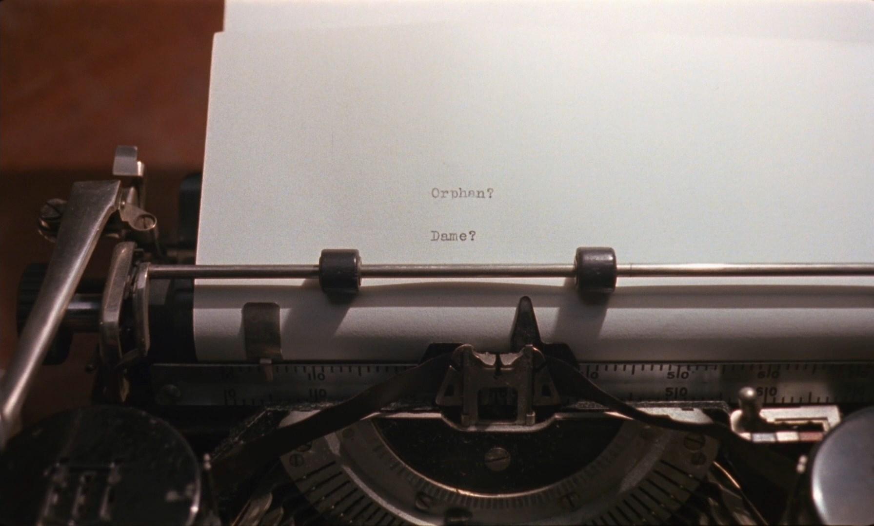 Barton Fink - Typewriter