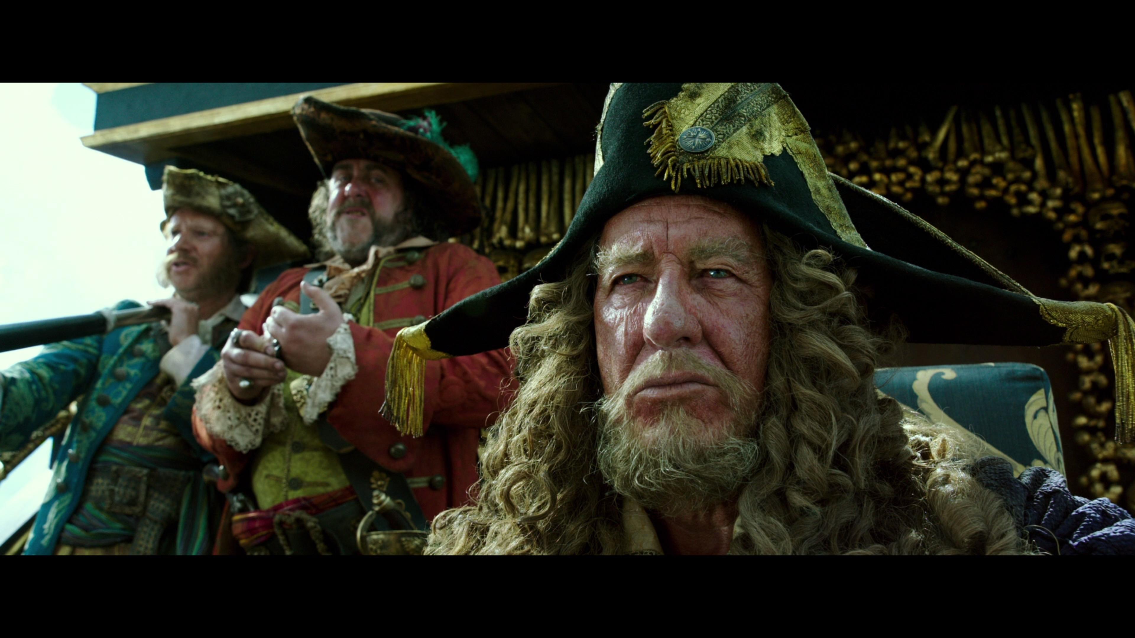 Caribbean Men: Pirates Of The Caribbean: Dead Men Tell No Tales Blu-ray