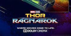 Thor: Ragnarok in Dolby Cinema