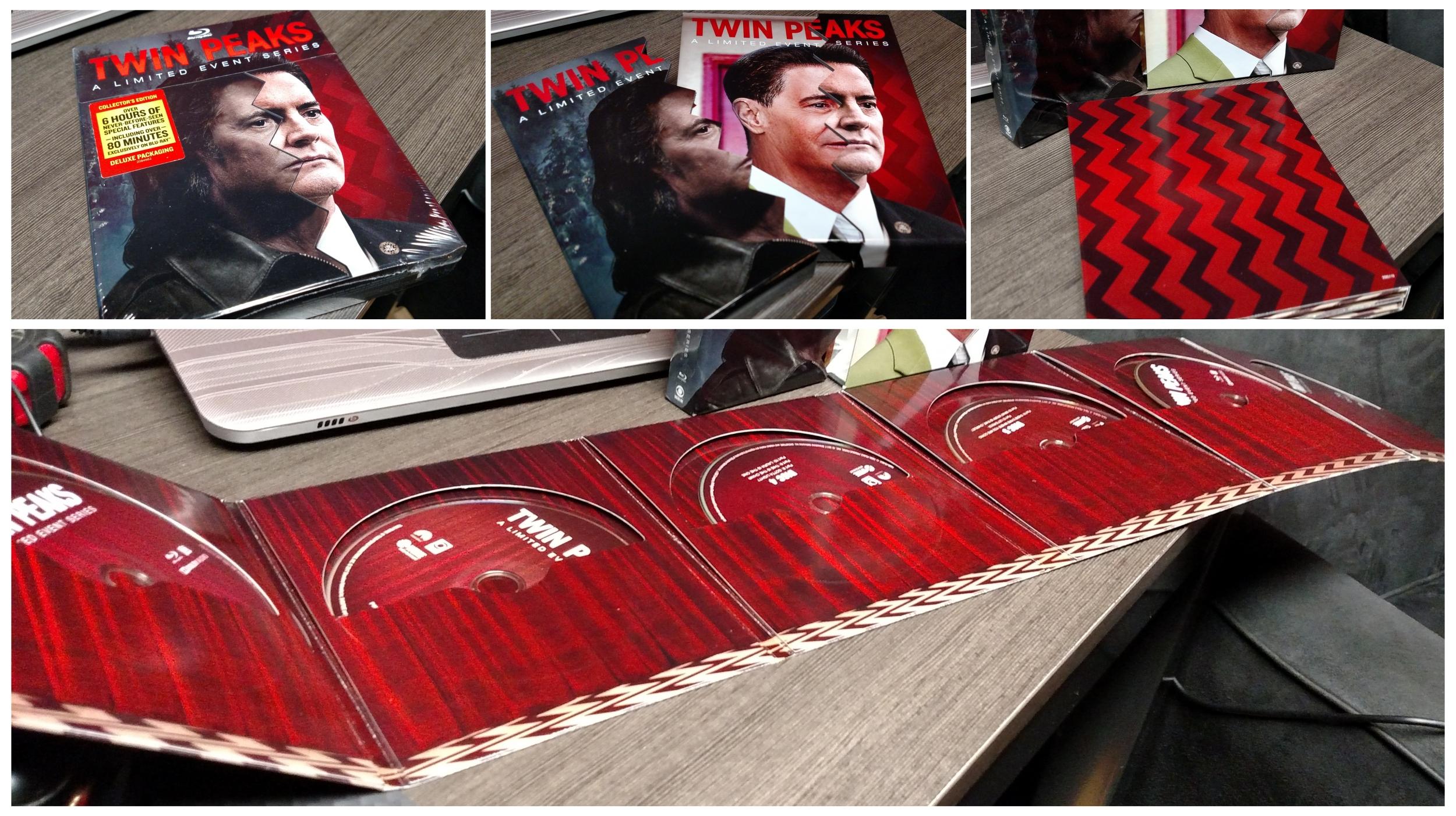 Twin Peaks S3 Blu-ray Packaging