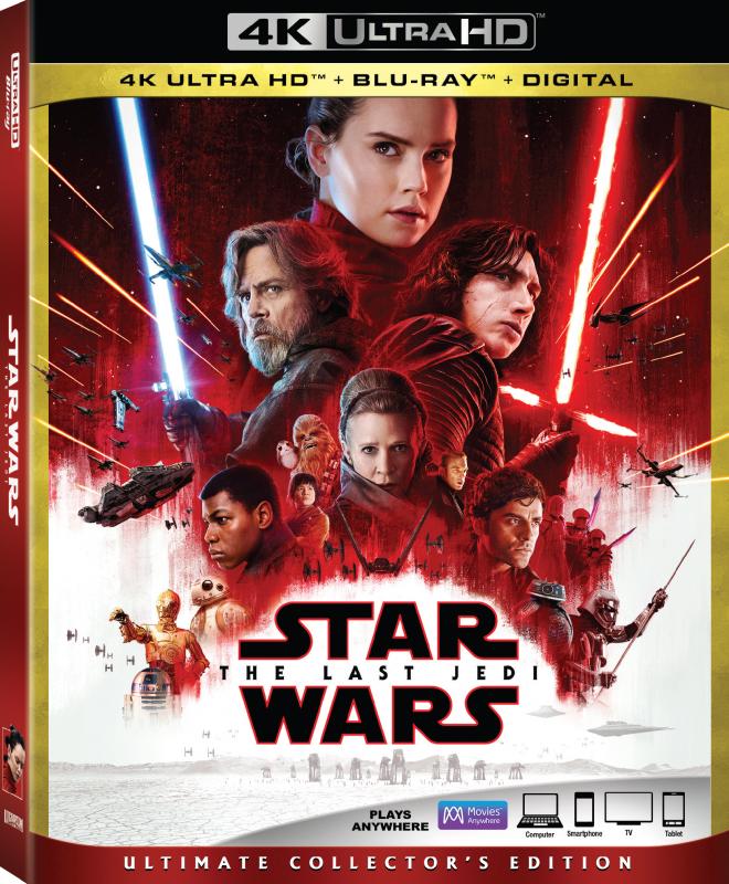 Star Wars The Last Jedi 4K Ultra HD Blu-ray