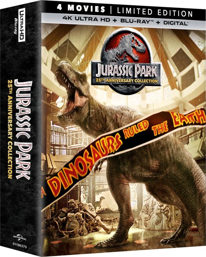 Jurassic Park 4K Collection