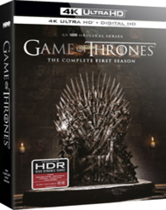 Game of Thrones: The Complete First Season - 4K Ultra HD Blu-ray ...