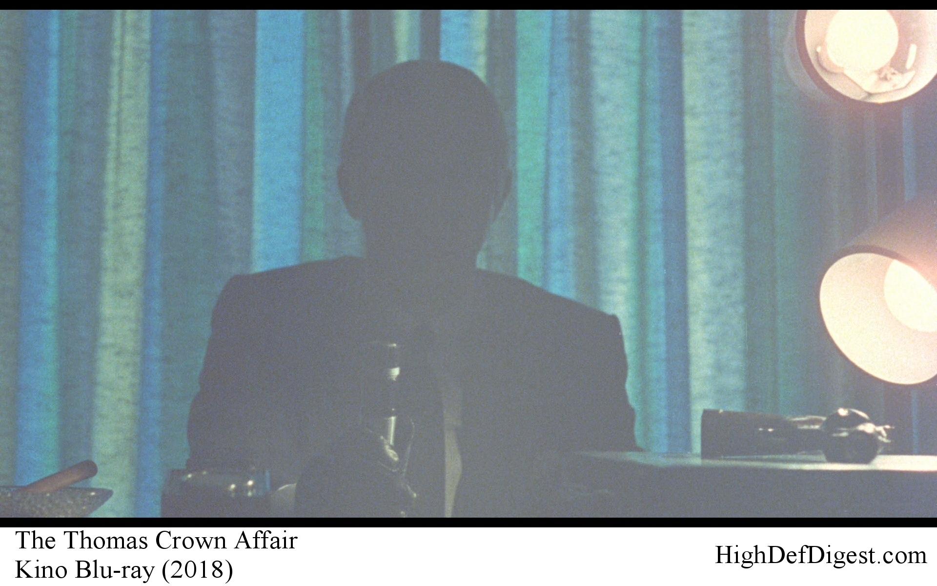 The Thomas Crown Affair - Steve McQueen in Silhouette Comparison Kino