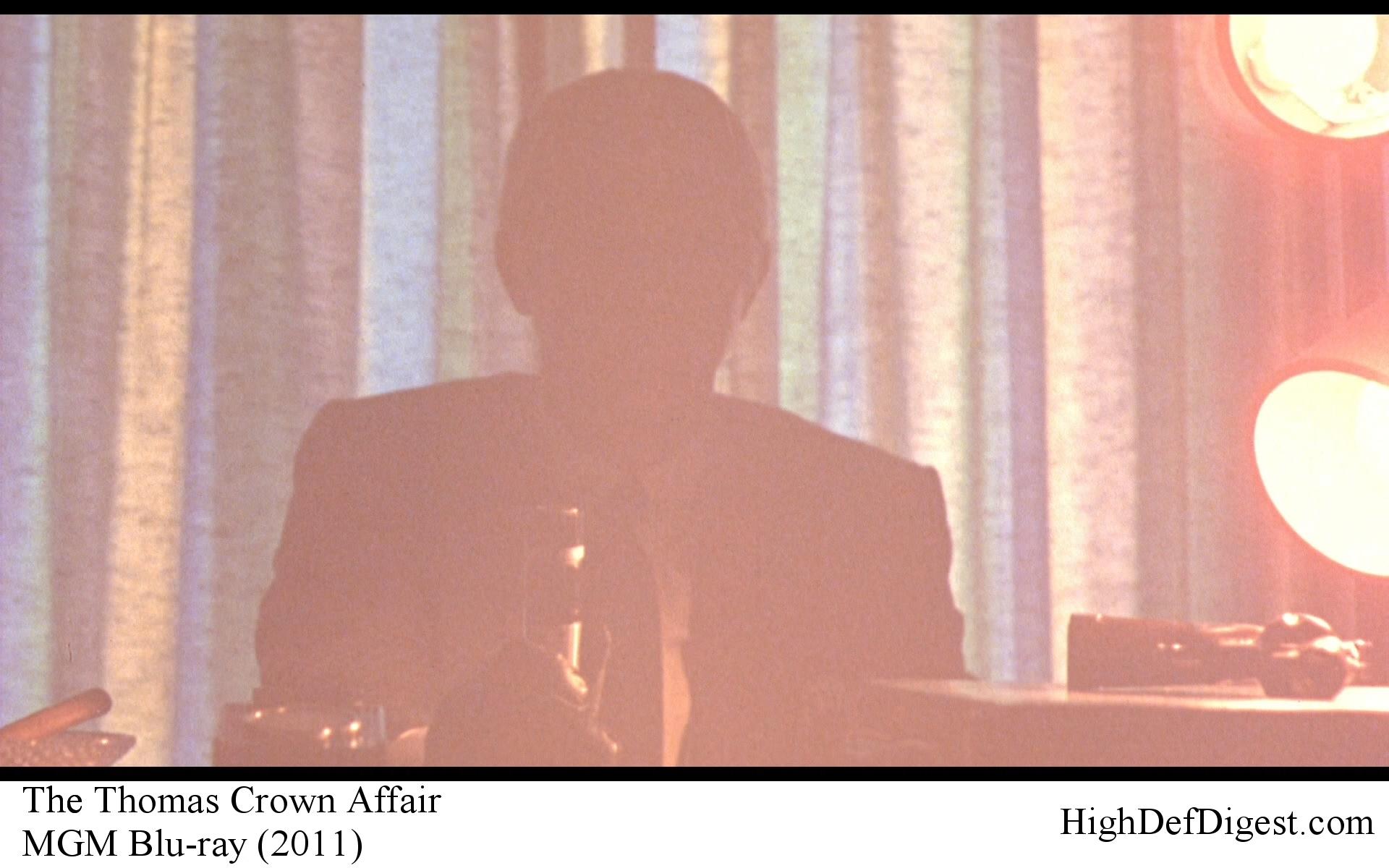 The Thomas Crown Affair - Steve McQueen in Silhouette Comparison MGM