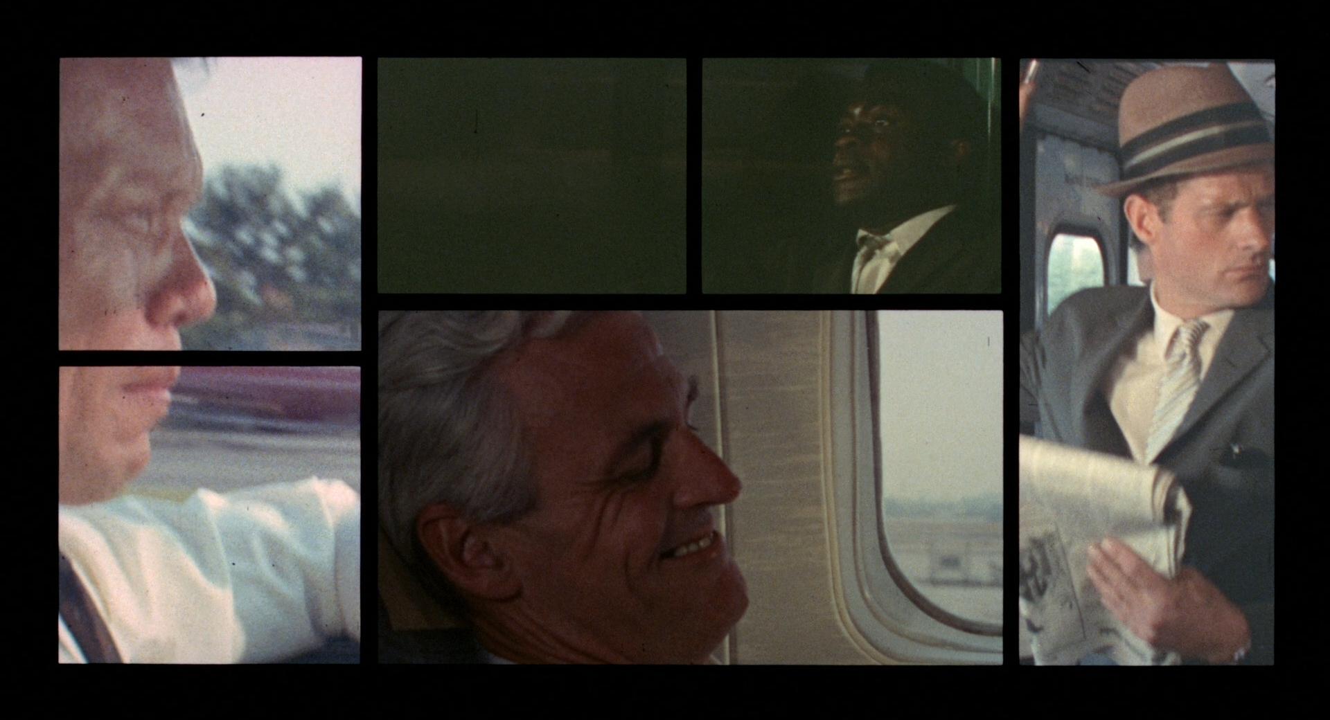 The Thomas Crown Affair - Split Screen