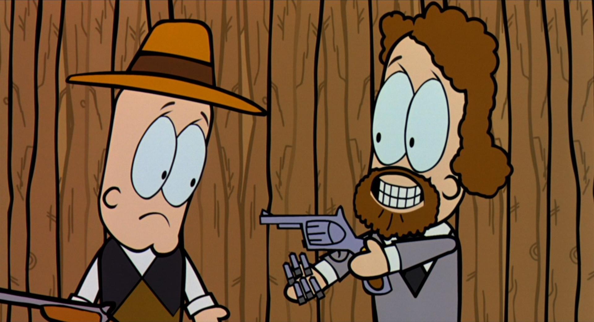 Bowling for Columbine - Cartoon Interlude