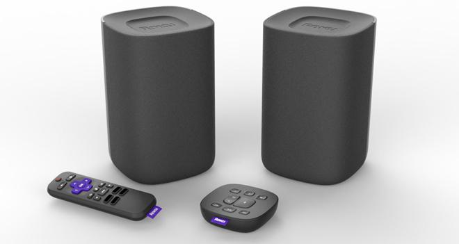 roku tv speakers large