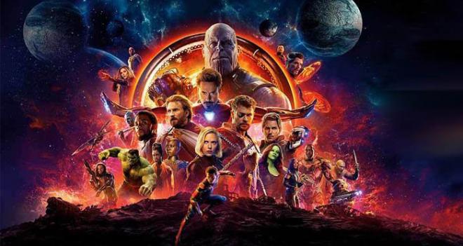 avengers infinity war large