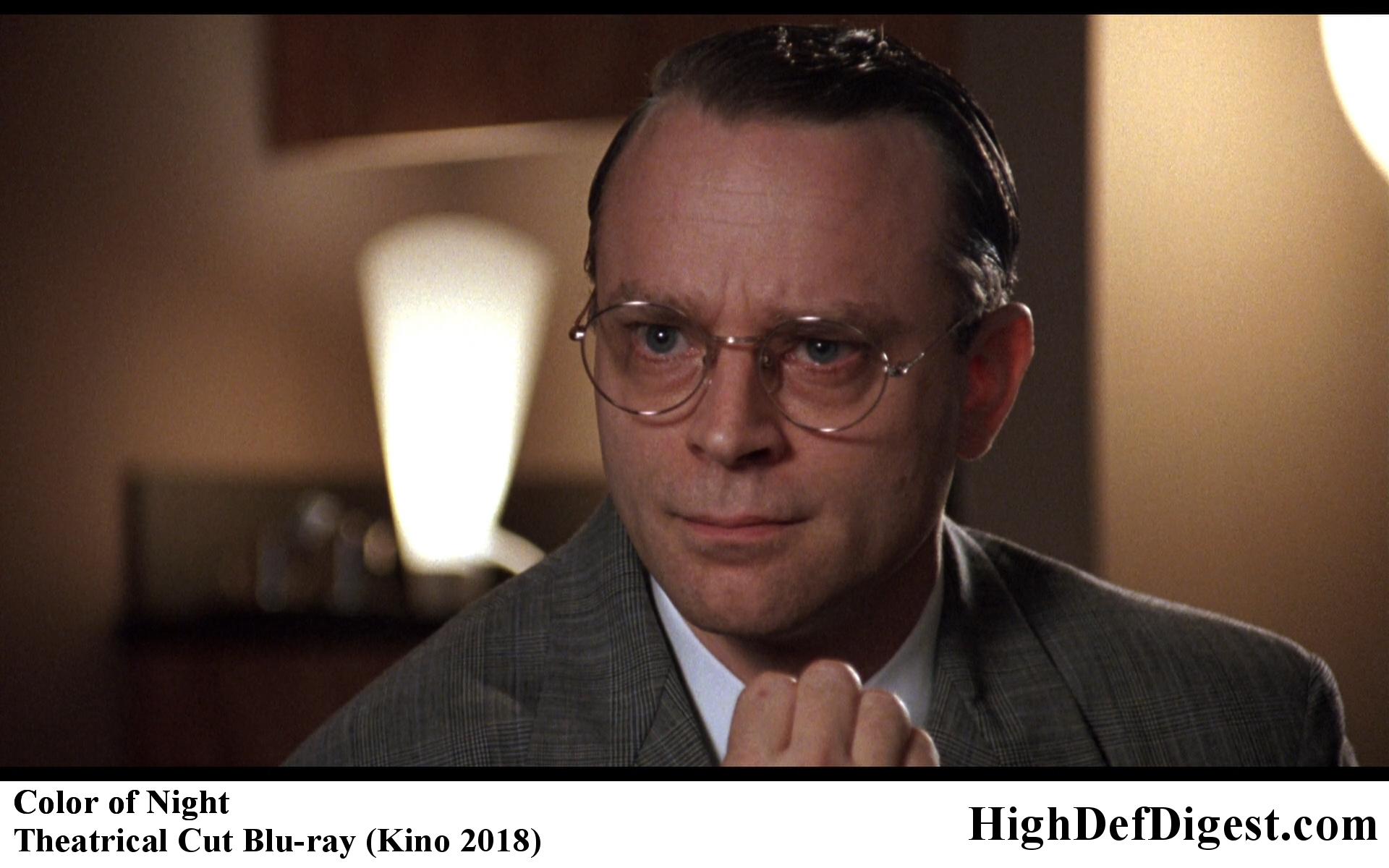 Color of Night Brad Dourif Comparison - Theatrical Cut