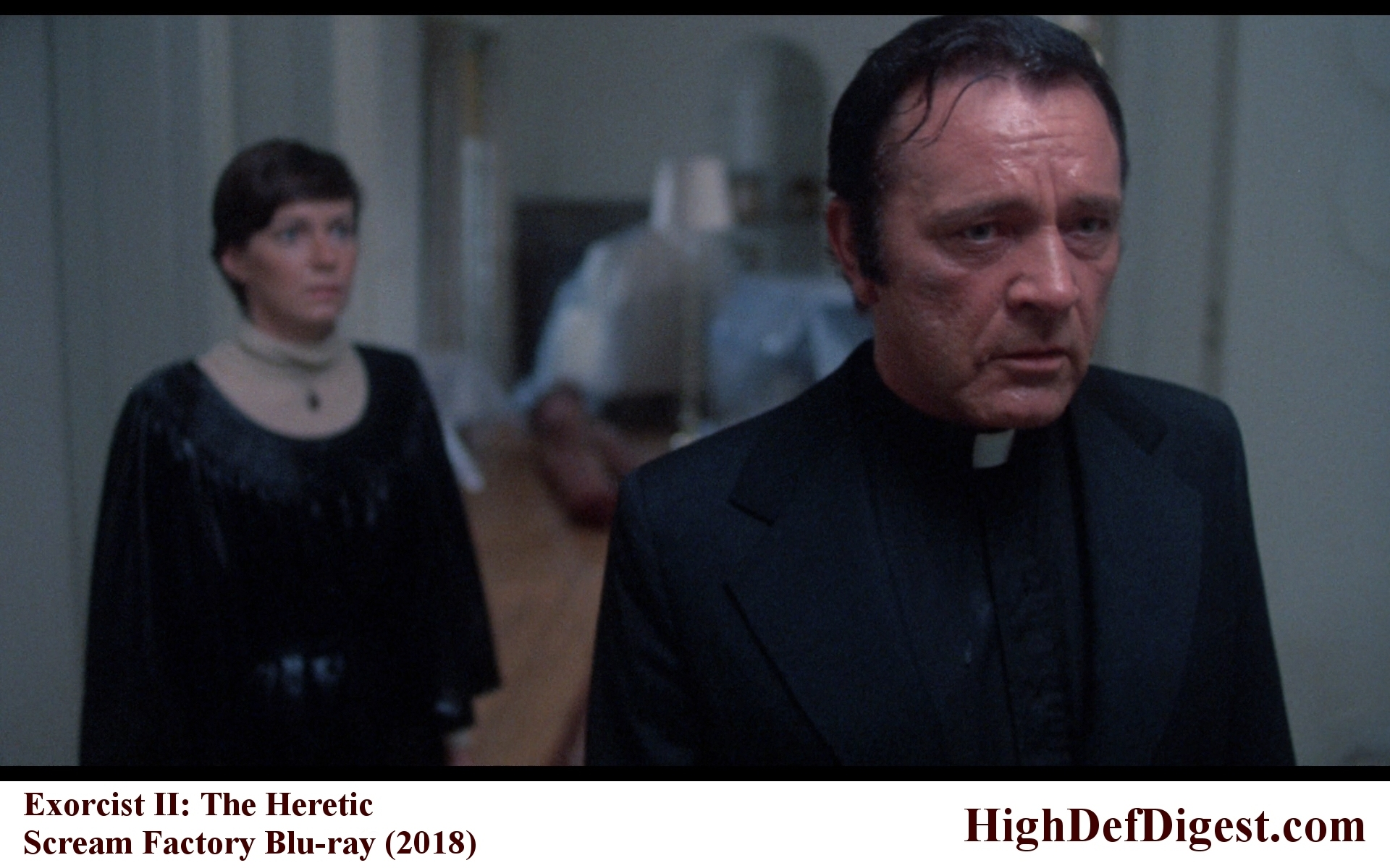 Exorcist II - Richard Burton Comparison (Scream Factory)