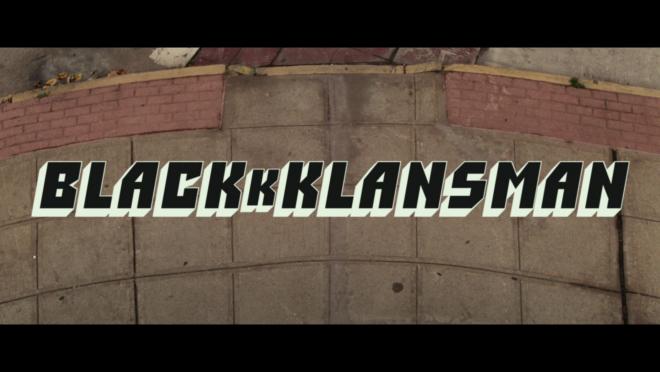 BlacKkKlansman 4K Blu-ray