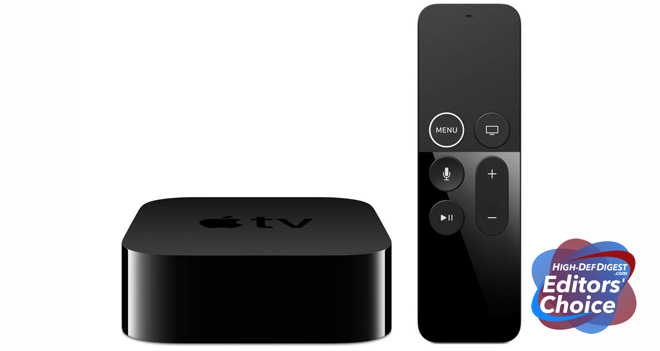 Apple TV 4K HDD Editors' Choice